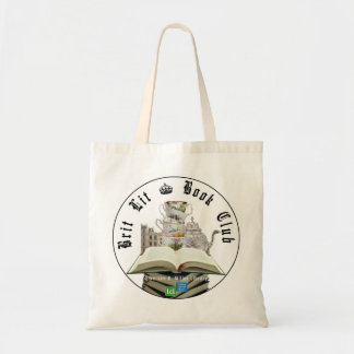 Licking County Library: Brit Lit Book Club Budget Tote Bag