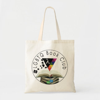 Licking County Library: LGBTQ Book Club Budget Tote Bag