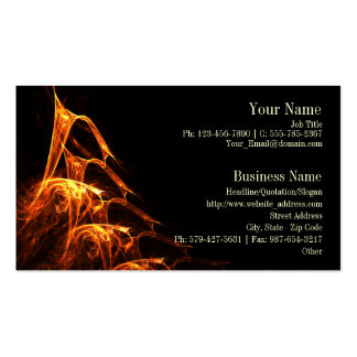 Licking Flames Business Card