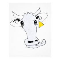 Licky cow letterhead
