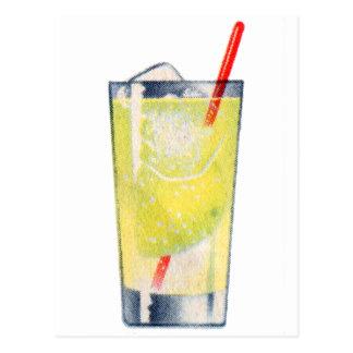 Licores de Rickey de la ginebra del cóctel del Postales