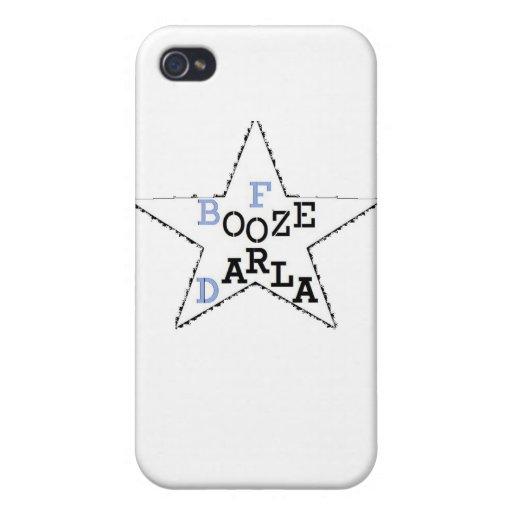 Licores para Darla - estrella apenada iPhone 4/4S Fundas