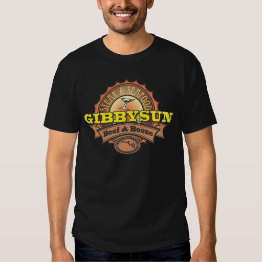 Licores y cerveza de Gibby Sun Remera