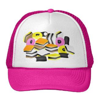 Licorice Allsorts Hat