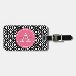 Licorice and Bubblegum Gail Print Tag For Luggage