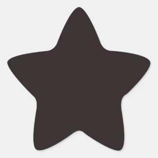 Licorice Black Star Sticker