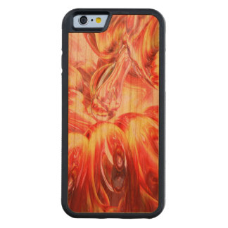 Licorice Euphoria Abstract Carved Cherry iPhone 6 Bumper Case