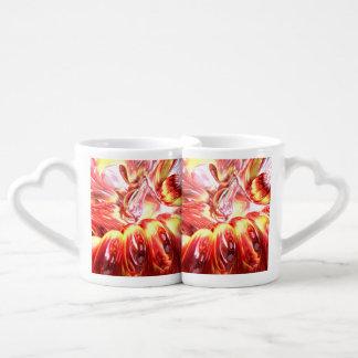 Licorice Euphoria Abstract Coffee Mug Set
