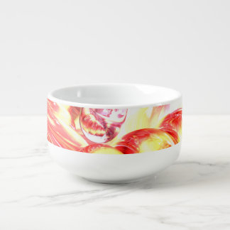 Licorice Euphoria Abstract Soup Mug