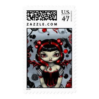 """""""Licorice Fairy"""" Stamp"""