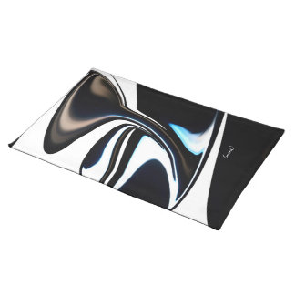 Licorice Swirl   Placemat, 20x14 Placemat