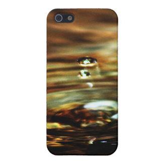 Licue el oro iPhone 5 protectores
