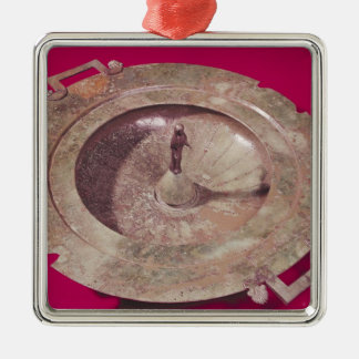 Lid of a krater christmas ornaments