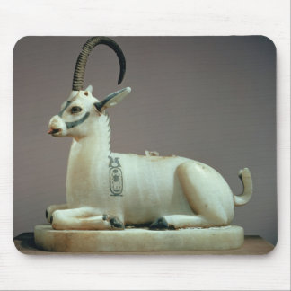 Lid of an unguent jar in the form of an ibex mouse pad