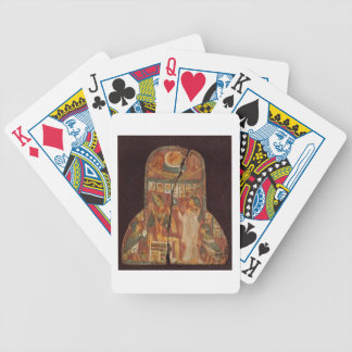 Lid of the coffin of the singer, Toarnemiherti, sh Bicycle Playing Cards