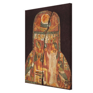 Lid of the coffin of the singer, Toarnemiherti, sh Canvas Print