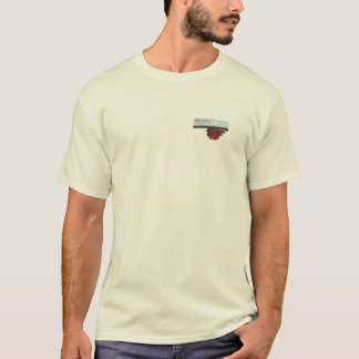 LID Sun Breast + Big Sun Back, Natural T-Shirt