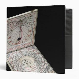Lidded compass, 1627 binder