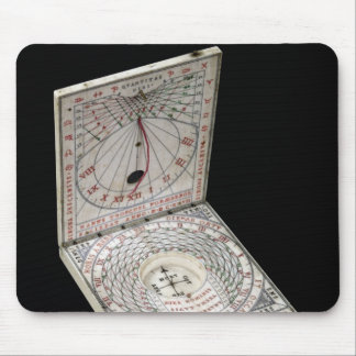 Lidded compass, 1627 mouse pad