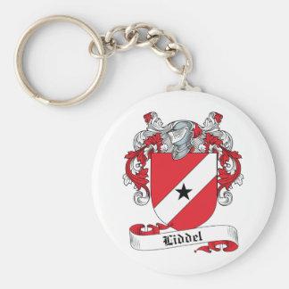 Liddel Family Crest Basic Round Button Keychain