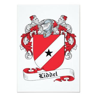 Liddel Family Crest Card