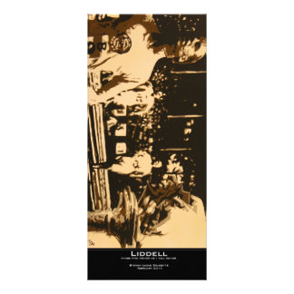 """Liddell"" Value Bookmark Rack Card"