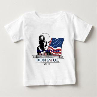 Líder americano real Ron Paul 2012.png Playera De Bebé