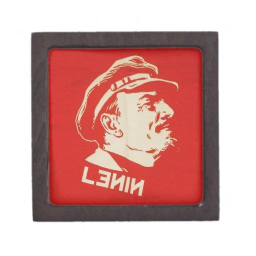 Líder comunista ruso Lenin Cajas De Regalo De Calidad