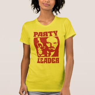 Líder de fiesta de Bolchevique Vladimir Lenin Remeras