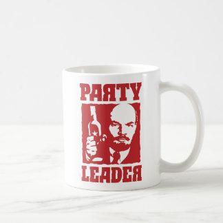 Líder de fiesta divertido de Lenin - de Taza Clásica