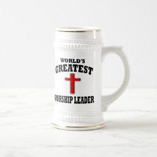 Líder de la adoración taza de café