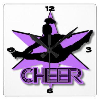 Líder de la alegría en púrpura relojes