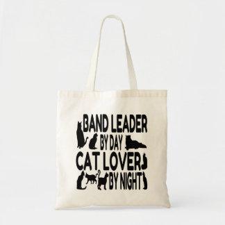 Líder de la banda del amante del gato bolsa tela barata