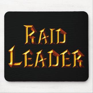 Líder de la incursión alfombrilla de ratón
