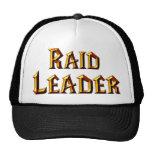 Líder de la incursión gorras de camionero