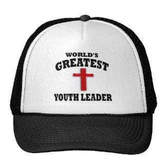 Líder de la juventud gorras de camionero