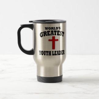 Líder de la juventud taza de café