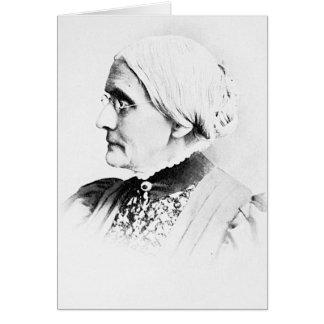 Líder de Susan B. Woman Suffrage del ~ de Anthony Tarjeta De Felicitación