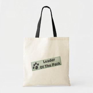 Líder del paquete bolsa tela barata
