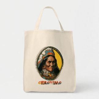 Líder Geronimo de Apache Bolsa Tela Para La Compra