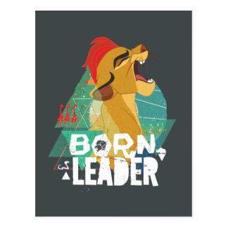 Líder nacido Kion del guardia el | del león Postal