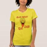 Líder negro del pelotón de viernes camiseta