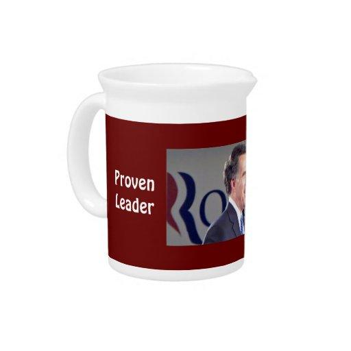 Líder probado Romney 19 onzas. Jarra del agua