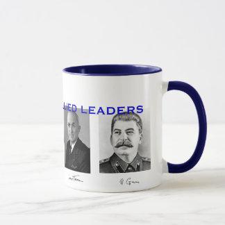 Líderes aliados Mug* de la Segunda Guerra Mundial