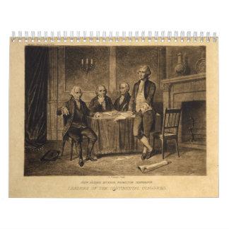 Líderes del congreso continental de A. Tholey Calendarios