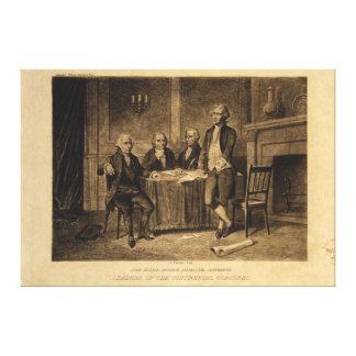 Líderes del congreso continental de A. Tholey Lona Estirada Galerias