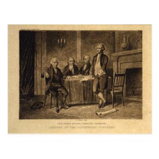 Líderes del congreso continental de A. Tholey Tarjetas Postales