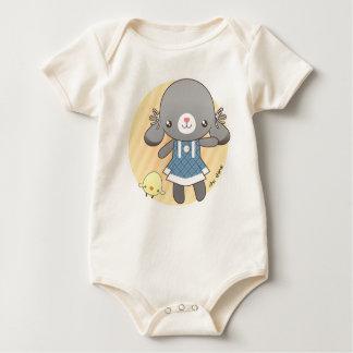 Lidia: The Bunny Amigurumi Baby Bodysuits