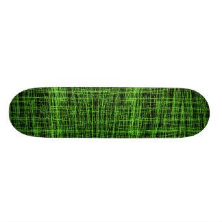 Lie Detector Abstract Digital Fractal Skateboard Deck