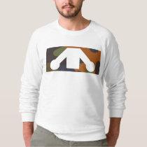 Lie Down Camo Pattern Sweatshirt